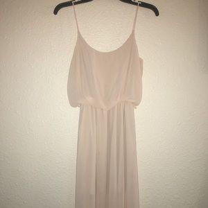 a'gaci Dresses - ⚠️ Agaci blush creme Maxi Dress